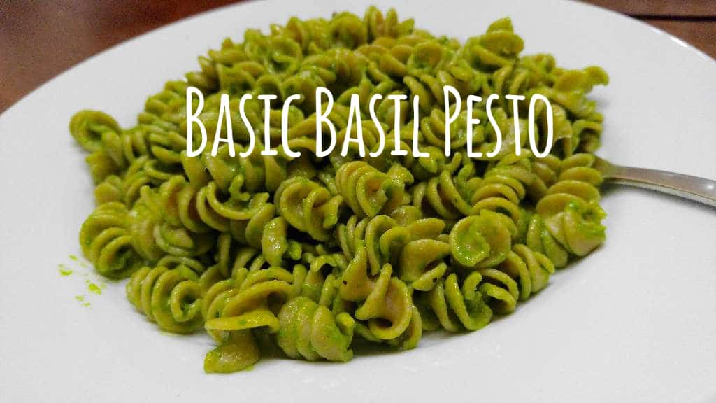 Basic Basil Pesto | Earth Powered Family
