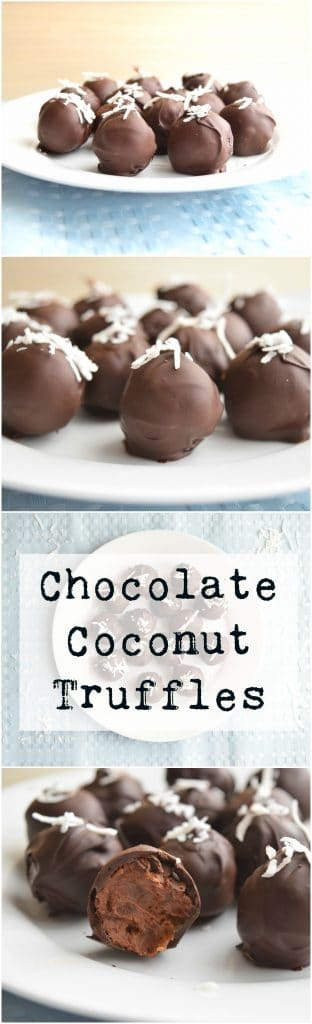 Chocolate Coconut Truffles | Earth Powered Family