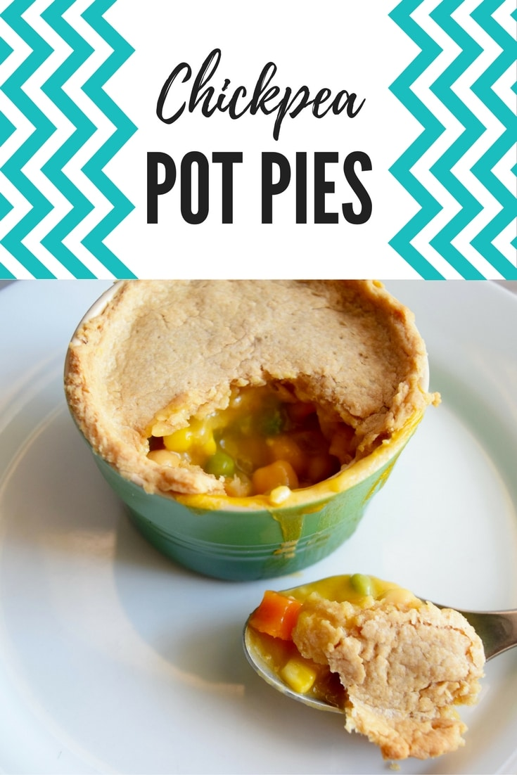 Chickpea Pot Pies   Earth Powered Family