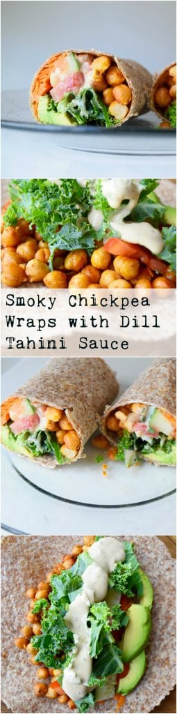smoky-chickpea-wraps