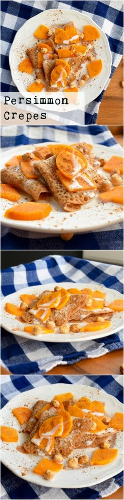 persimmon-crepes