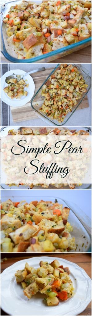 pear-stuffing