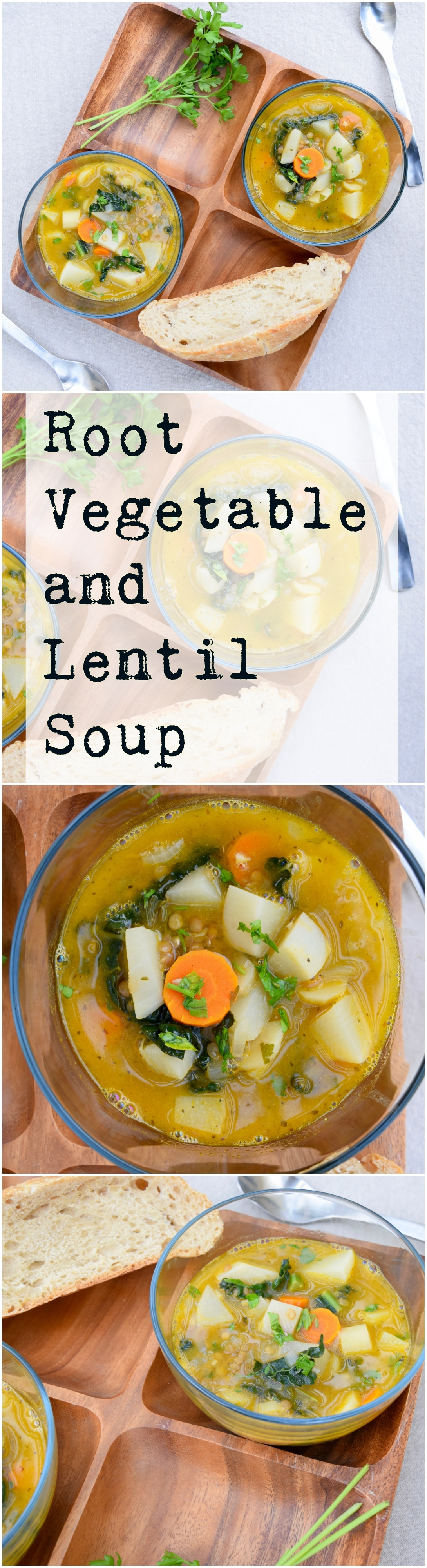 Root Vegetable and Lentil Soup | Earth Powered Family