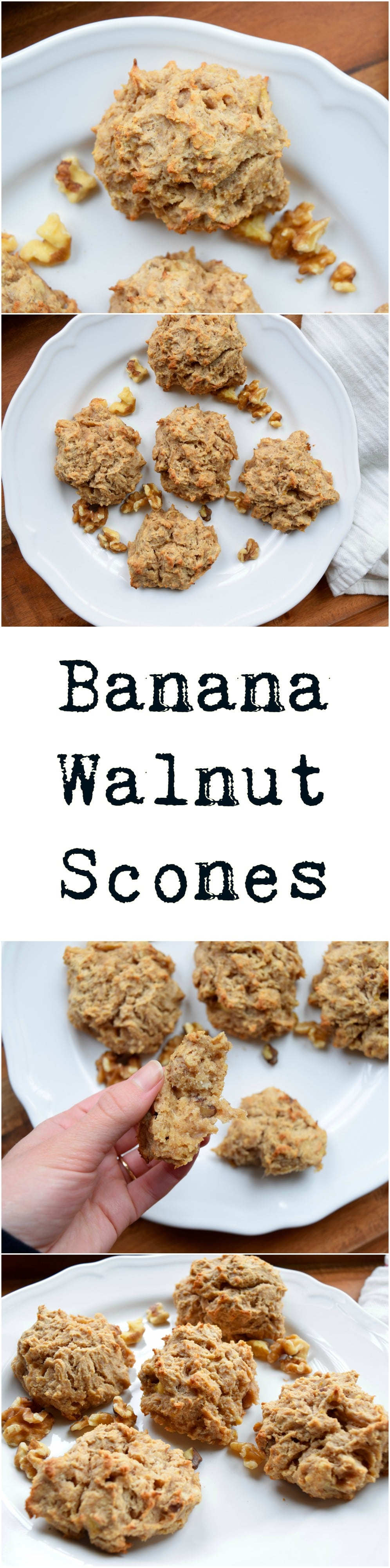 Banana Walnut Scones | Earth Powered Family